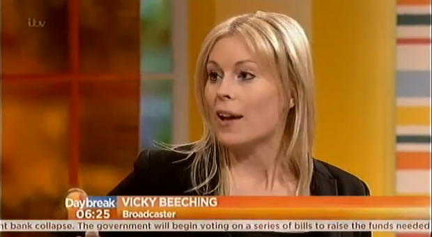 ITV's Daybreak, March 22nd 2013