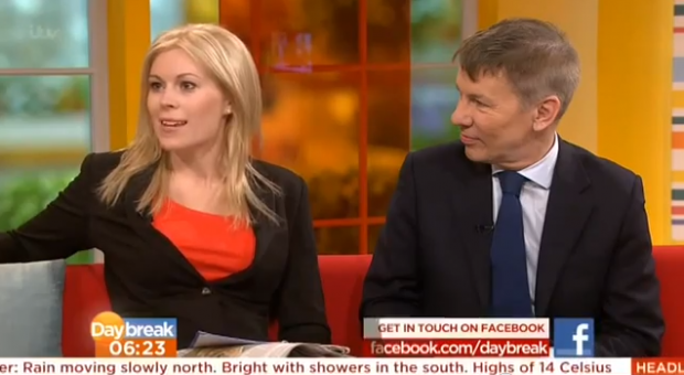 ITV's Daybreak, April 11th 2013