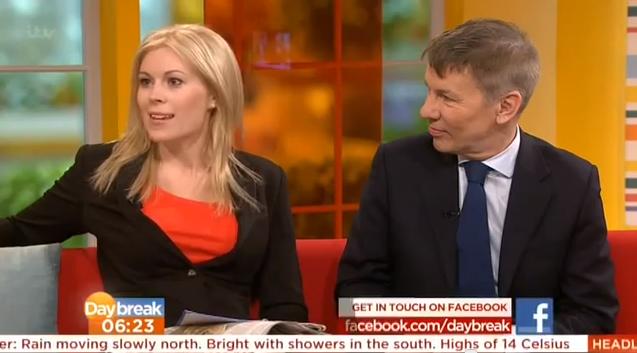 ITV's Daybreak, April 11th 2013