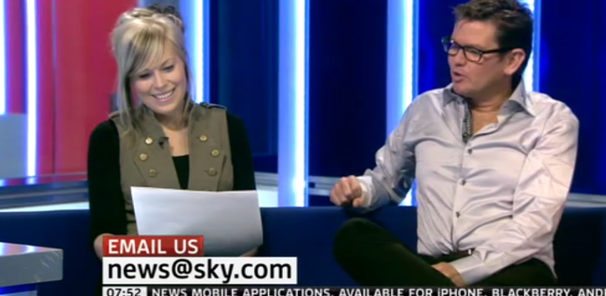 Sky News paper review with photographer Cambridge Jones