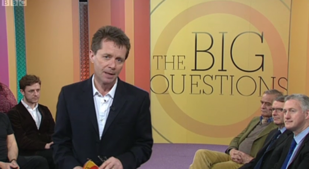 Vicky on BBC1′s The Big Questions