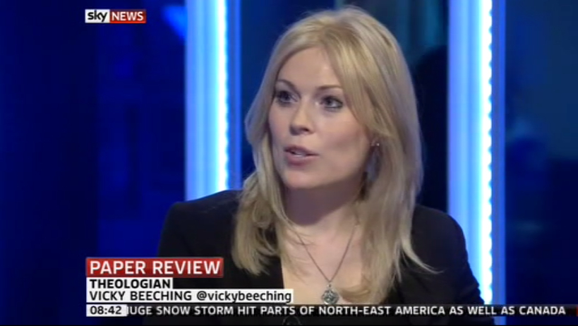 Victoria Vicky Beeching 1