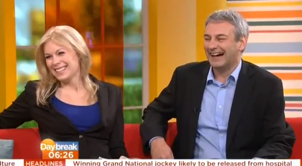 ITV's Daybreak, April 8th 2013