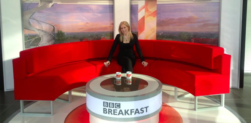 BBC Breakfast, April 6th 2013