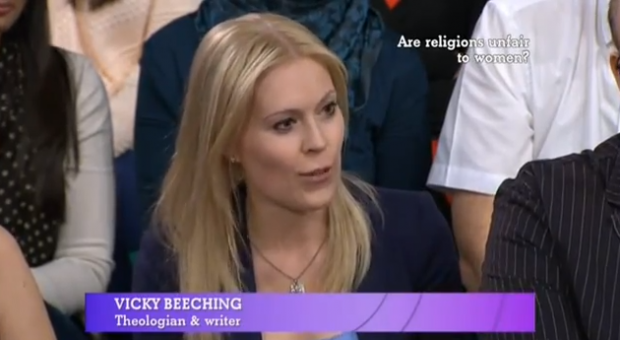 Women & religion debate, BBC 1, 5th May 2013