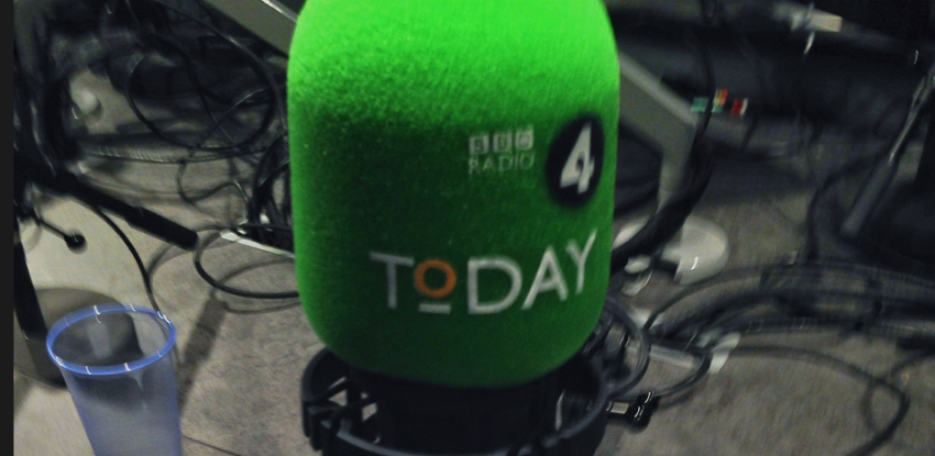 Radio 4's Today programme, Oct 23rd 2013