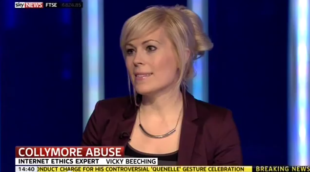 Cyber-bullying interview, Sky News Jan 22nd 2014