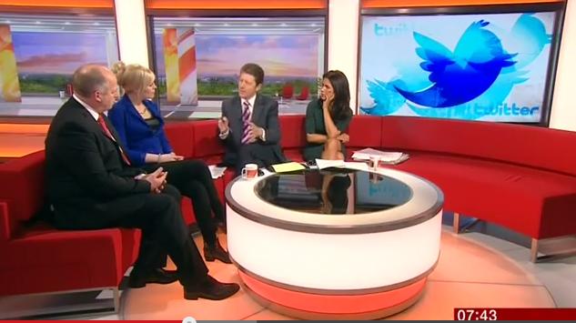 Vicky Beeching Twitter ethics, BBC Breakfast, Jan 23rd 2014