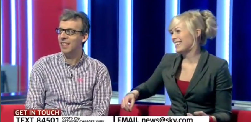 Sky News with David Schneider, March 15th 2014