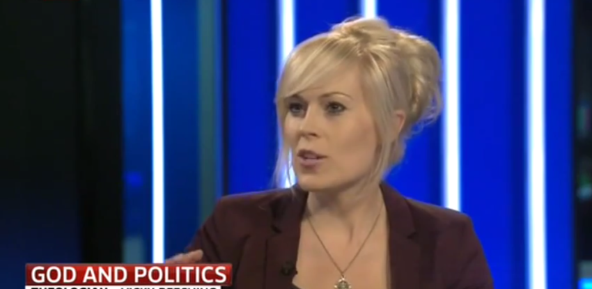 April 17th 2014: Vicky & Owen Jones debate 'God & Politics'