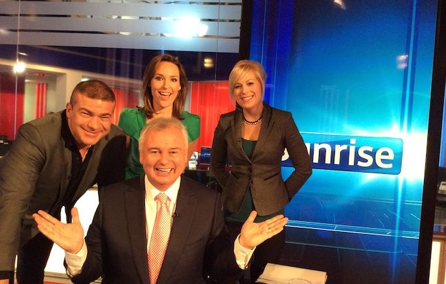 Sunrise with Eamonn Holmes, May 19th 2014
