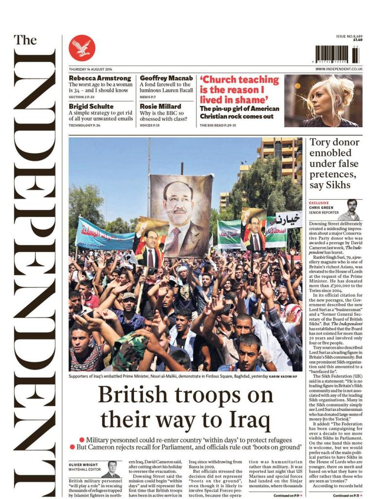 The Independent Aug 14 2014