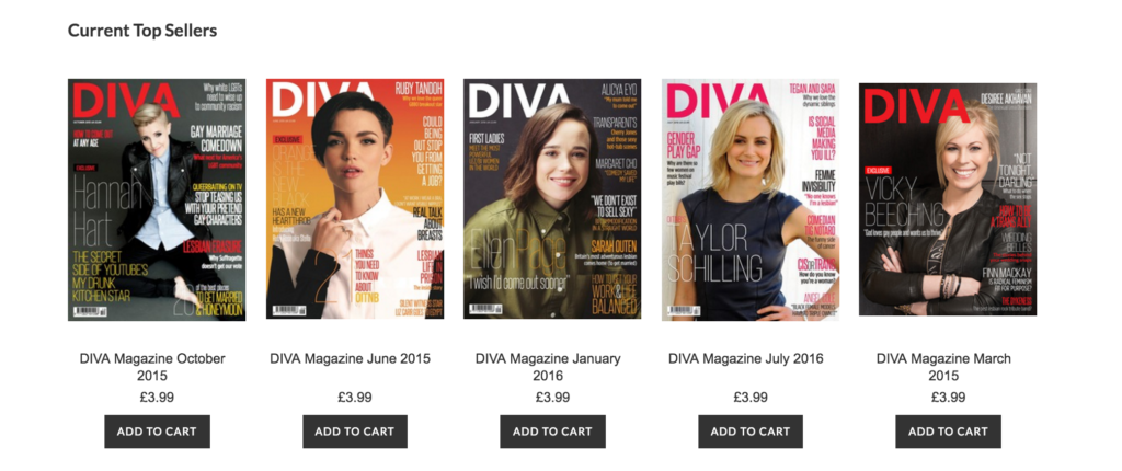 Diva covers