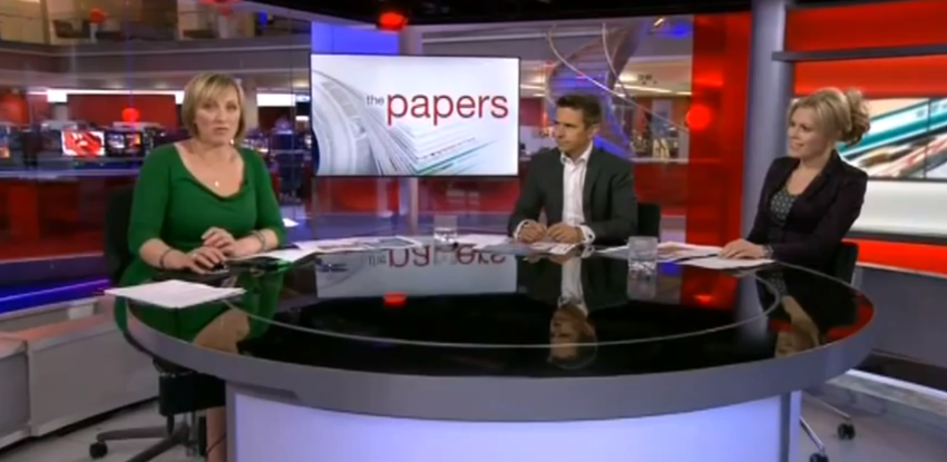 BBC News Channel, June 9th 2103