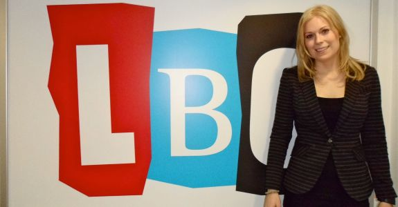 Vicky on LBC Radio's Politics Show with Iain Dale