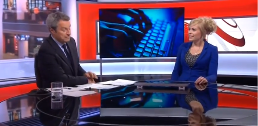 BBC News, interview about Internet trolling, August 6th 2013