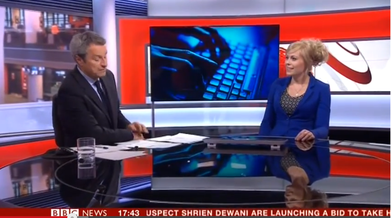 BBC News Photo: BBC News, Interview About Internet Trolling, August 6th