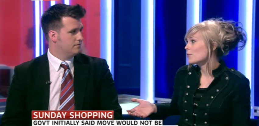 Sky News: Debating with Mark Wallace from IoD