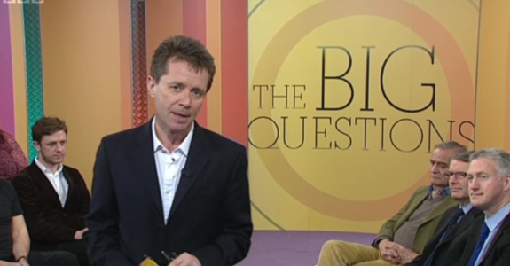 Vicky on BBC1's The Big Questions