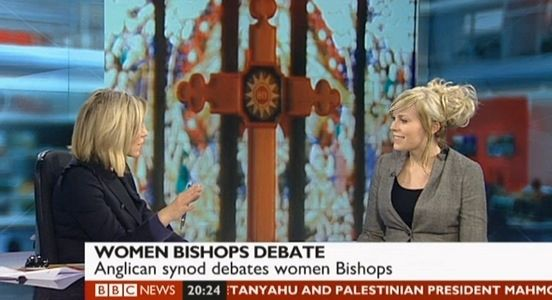 BBC News – Women Bishops & Social Media