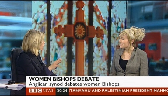 BBC News – Women Bishops & Social Media