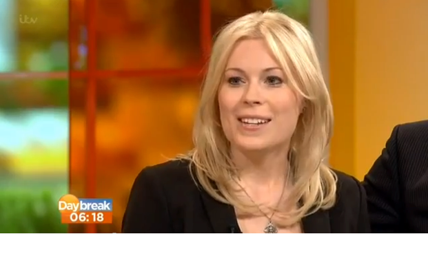 ITV's Daybreak, February 19th 2013