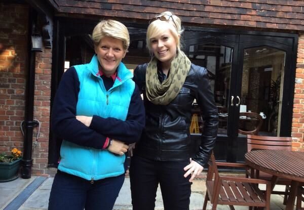 Clare Balding interviews Vicky, Radio 2, Easter Sunday
