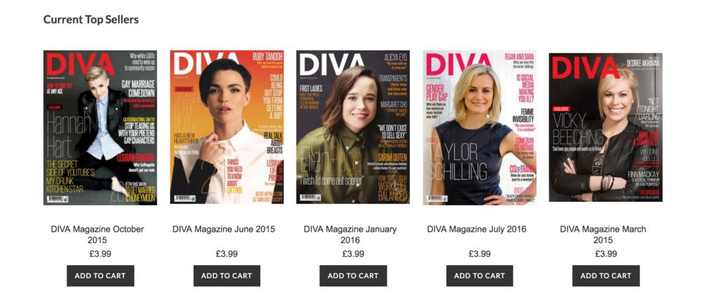 Diva covers
